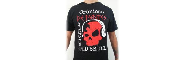 Camiseta Old Skull - 01 - vitrine
